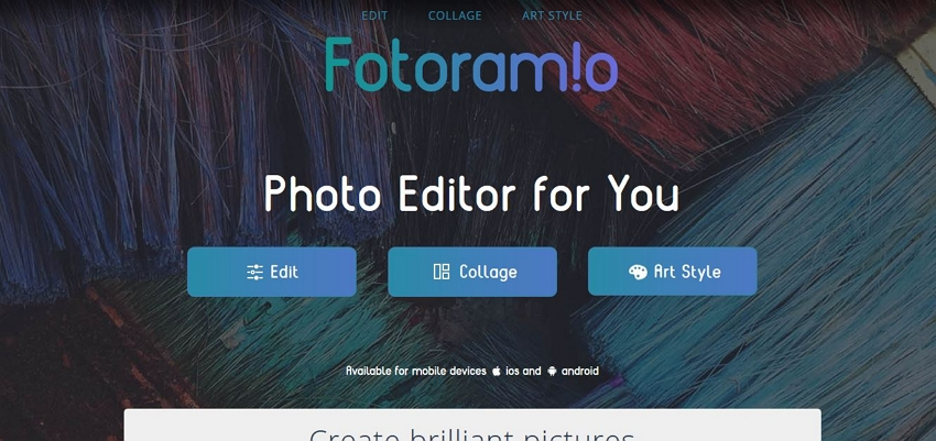 Online Photo Effects - Fotoram