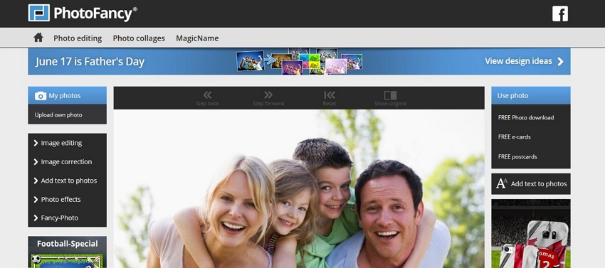 Online Photo Effects - PhotoFancy