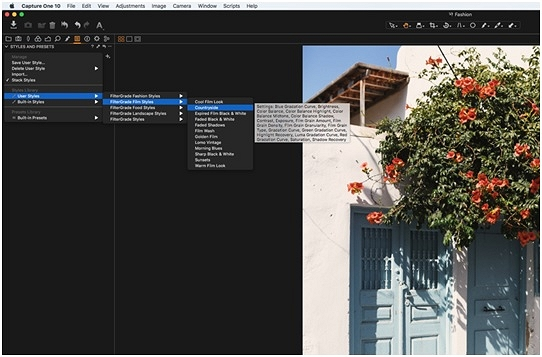 Photo Filter Download - Capture One