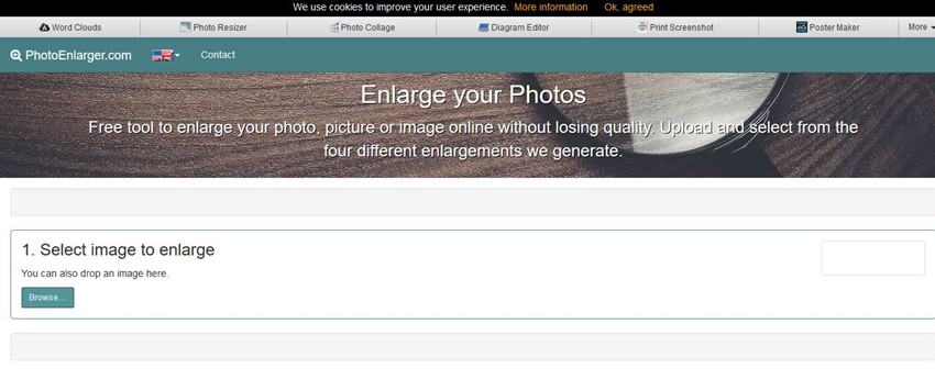 How to Blow up Pictures - Visit Online Photo Editor