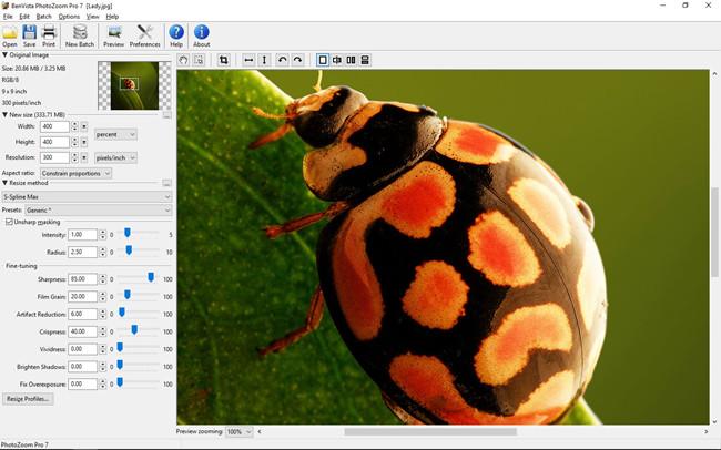 Most Helpful Photo Enlarger - PhotoZoom Pro 7