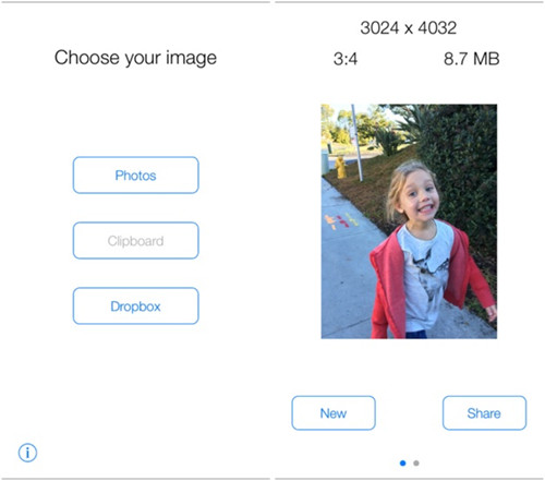 How to Increase DPI of Images - Start App and Add Image to App