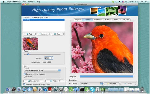 How to Increase Resolution of Image - Add Image to HQ Photo Enlarger