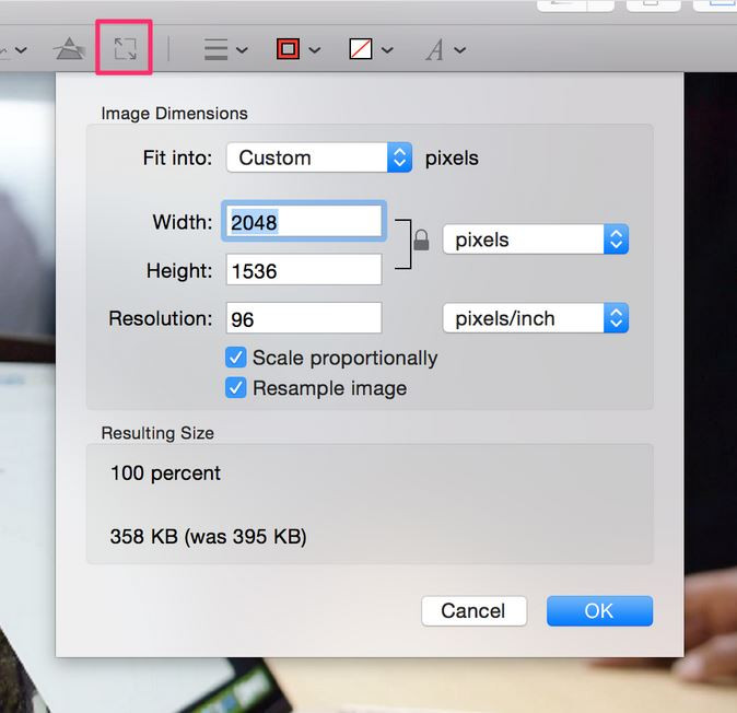 How to Make a High Resolution Photo - Make High-Resolution Photo with Preview