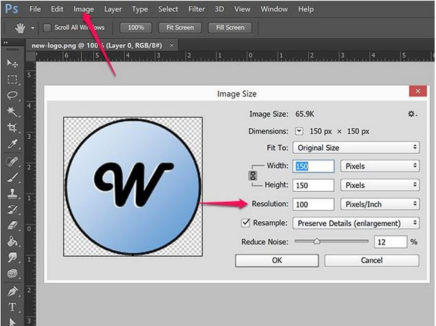 How to Make a High Resolution Photo - Import Image to Photoshop