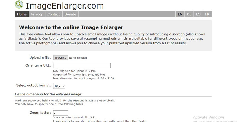 How to Scale Image - Image Enlarger