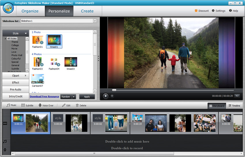 Make a Video Presentation with Pictures and Music - Personalize your slideshow