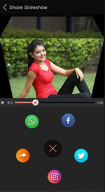 Make a Video Presentation with Pictures and Music - Save your video presentation