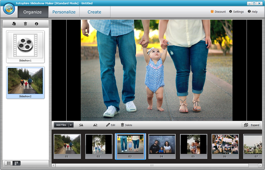 Photo to Video Converters in 2018 - Fotophire Slideshow Maker