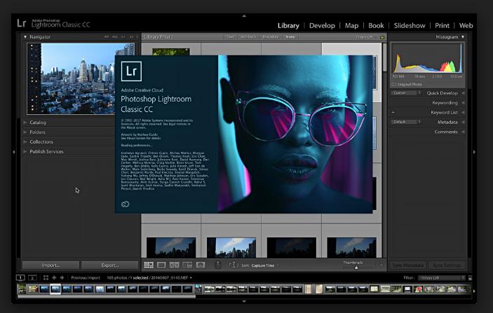 YouTube Background Maker - Adobe Lightroom CC