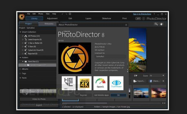 YouTube Background Maker - CyberLink PhotoDirector Ultra