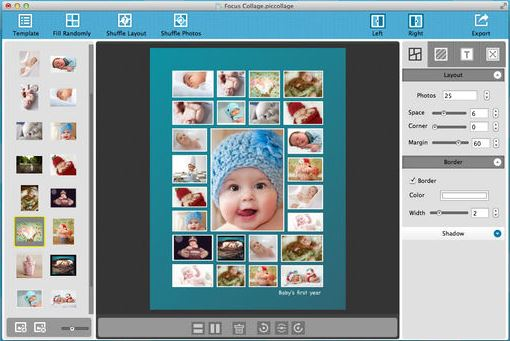 Instagram Collage Maker - Pic Collage for Mac