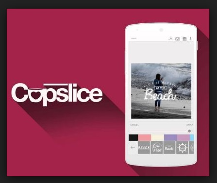 YouTube Photo Editor -  Cupslice