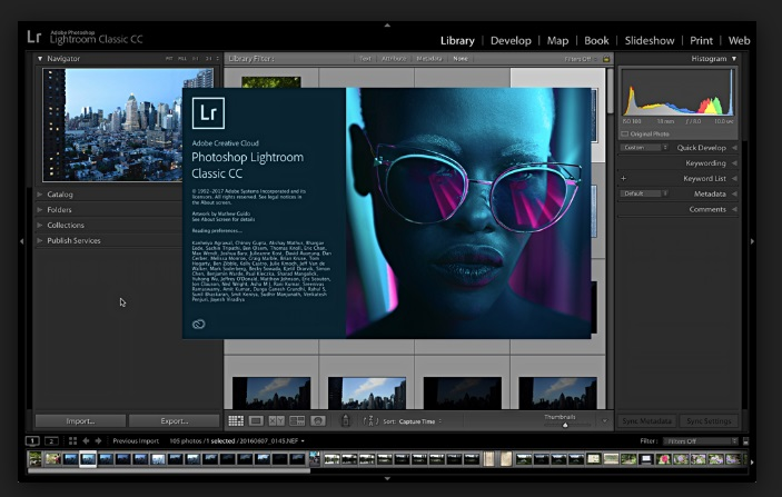 YouTube Photo Editor - Adobe Lightroom CC