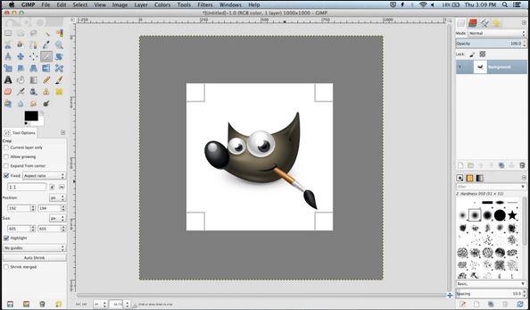 YouTube Photo Editor - GIMP