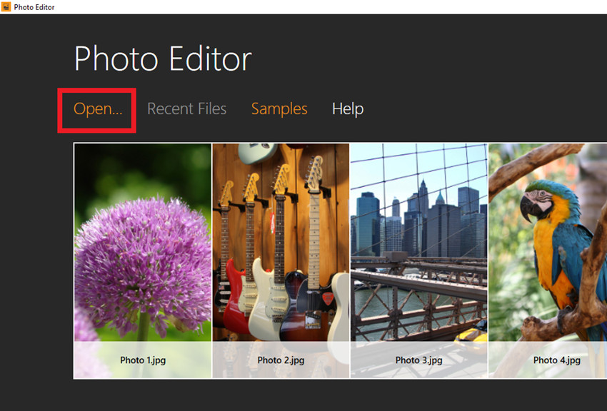 How to Make Facebook Cover Photos - Start Photo Editor