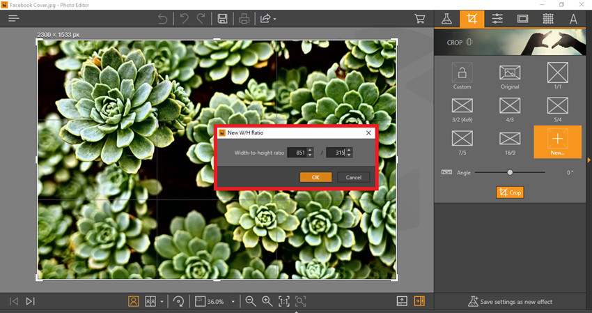 How to Make Facebook Cover Photos - Create Custom Crop