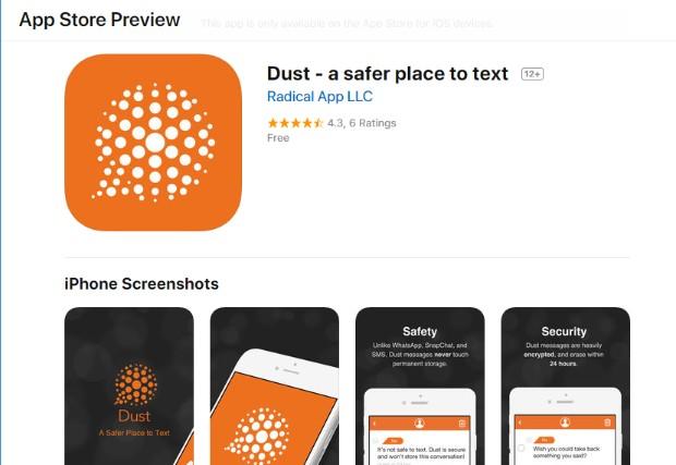 Snapchat Photo Editor - Dust