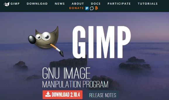 Snapchat Photo Editor - Gimp