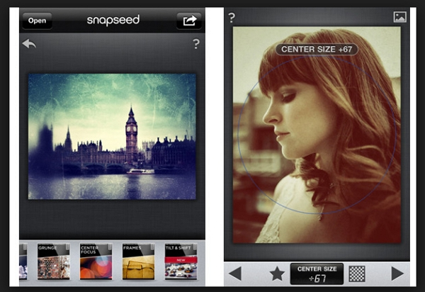 Instagram Filter Apps - Snapseed