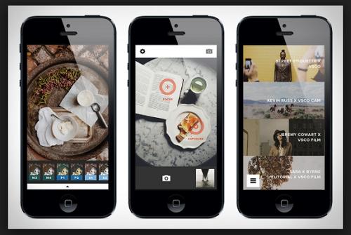 Instagram Filter Apps - VSCO