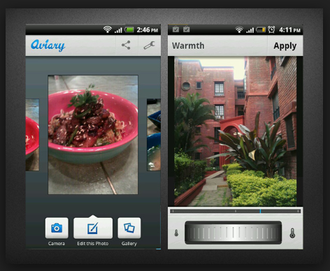 Instagram Filter Apps - Aviary