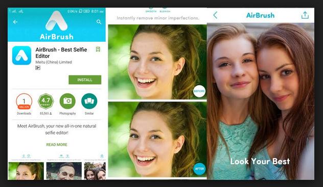 Instagram Filter Apps -AirBrush
