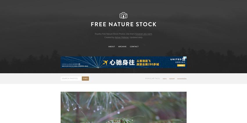 Free Image Source - FreeNatureStock