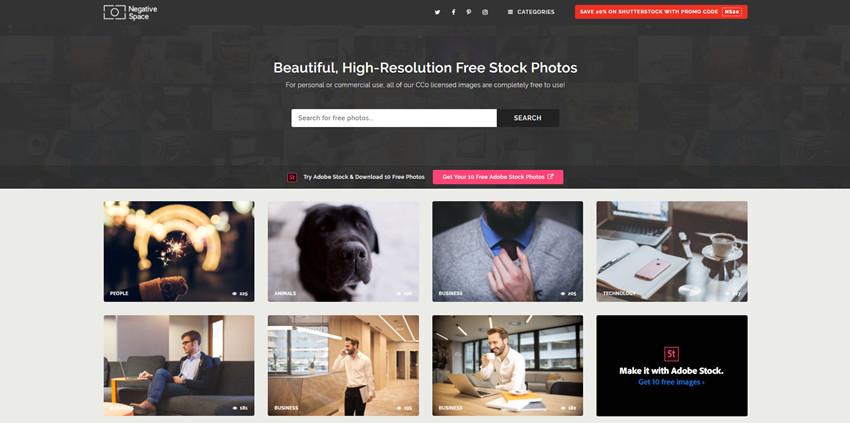 Free Image Source - NegativeSpace
