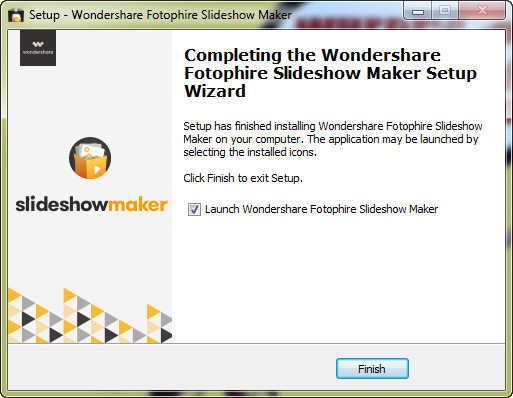 Install Fotophire Slideshow Maker - Choose Folder for Installation