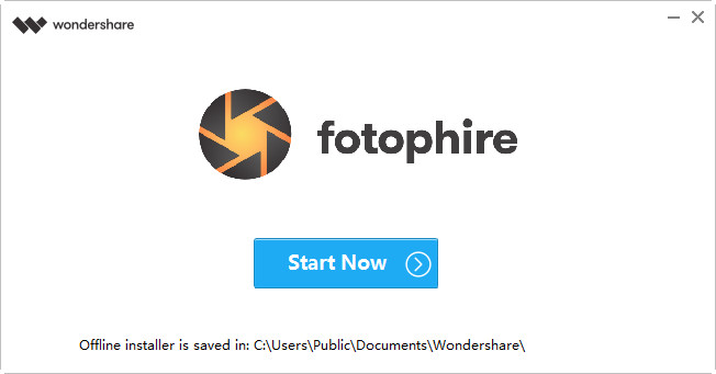 Get Started with Fotophire - Finish Installation