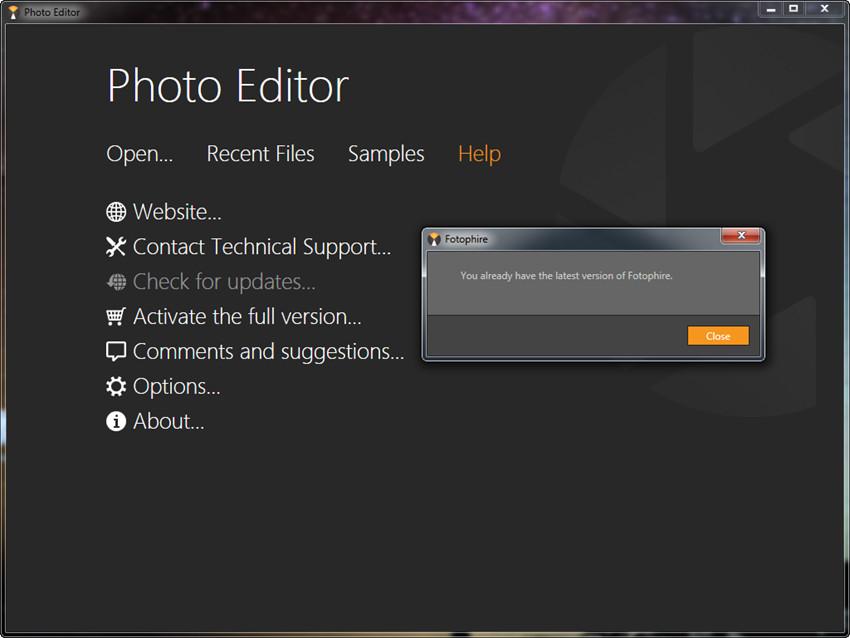 Get Started with Fotophire - Register Program