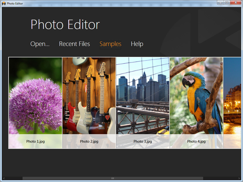 Get Started with Fotophire - Recent Files