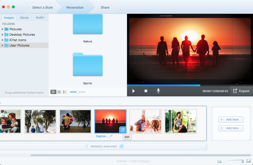 How to Make a Slideshow - Edit Photos or Videos