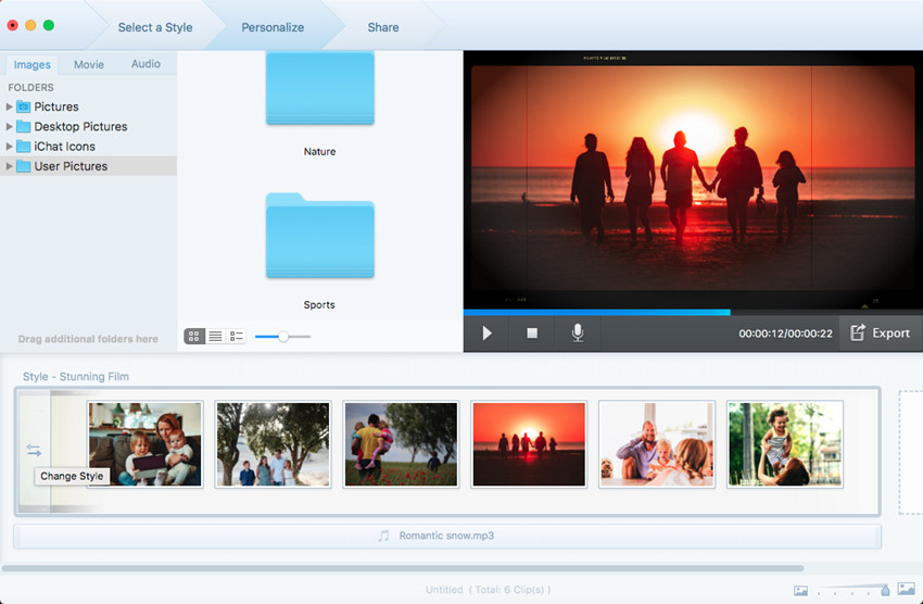 How to Make a Slideshow - Change Style of Your Slideshow