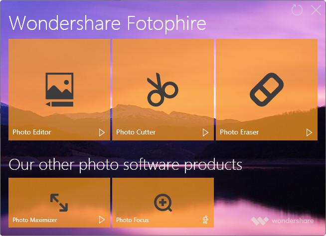 Use o Maximizer de fotos para ampliar fotos - Primeiros passos
