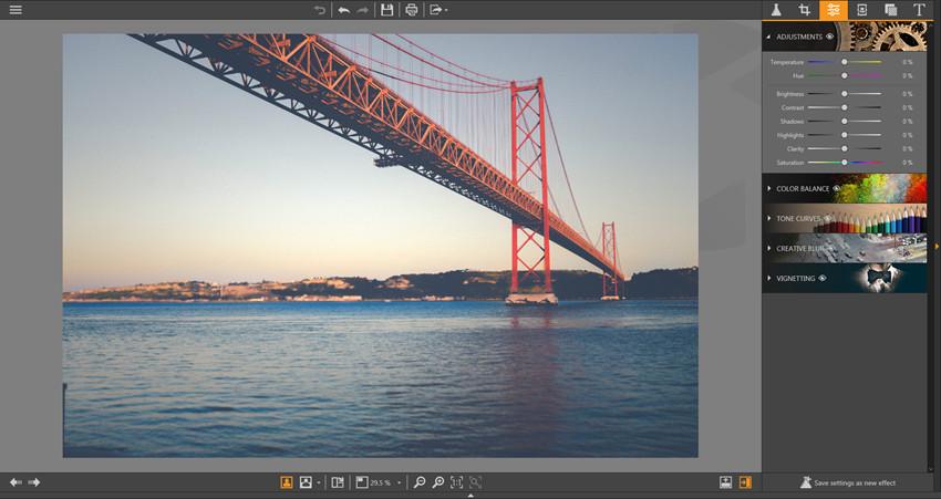 Make Adjustments on Photos - Enter Adjustment Panel