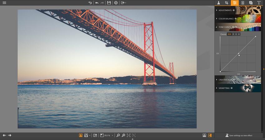 Make Adjustments on Photos - Tone Curves