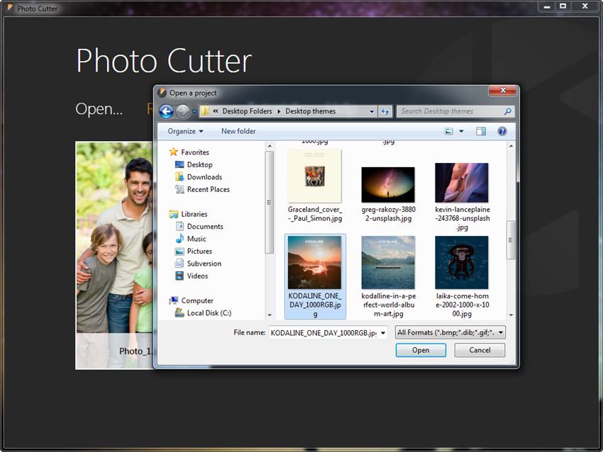 Crop Photos - Choose Photo Cutter