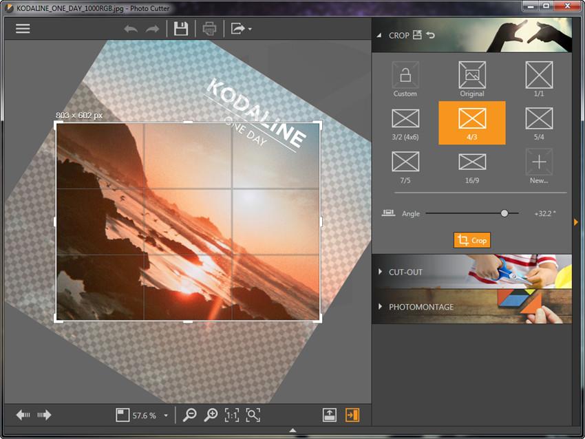Crop Photos - Change Angle of Photos