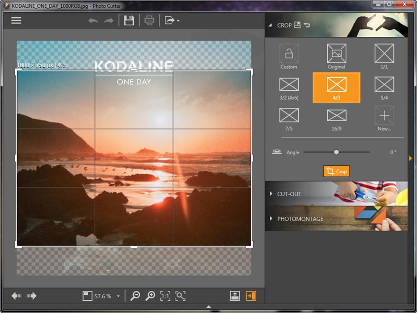 Crop Photos - Start Cropping Photo