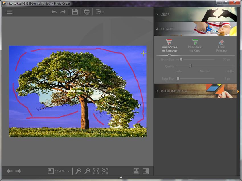 Crop Photos - Start Fotophire Editing Toolkit
