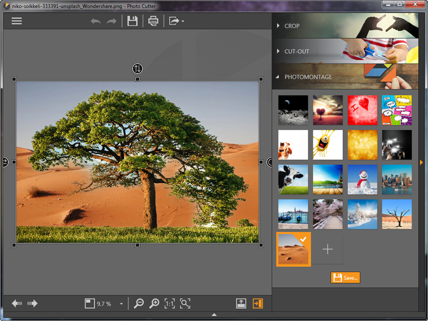Photomontage - Select a Phoitomontage or Create Your Own