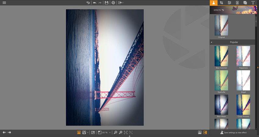 Apply Effects on Photos - Rotate
