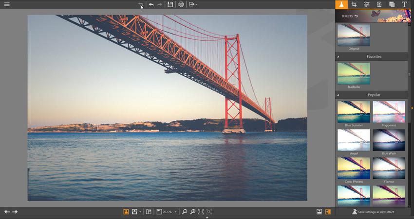 Apply Effects on Photos - Revert to Original