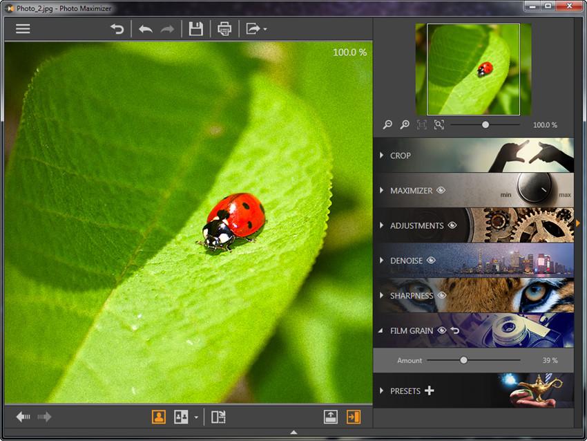 Add Film Grin to Photos - Add Film Grin