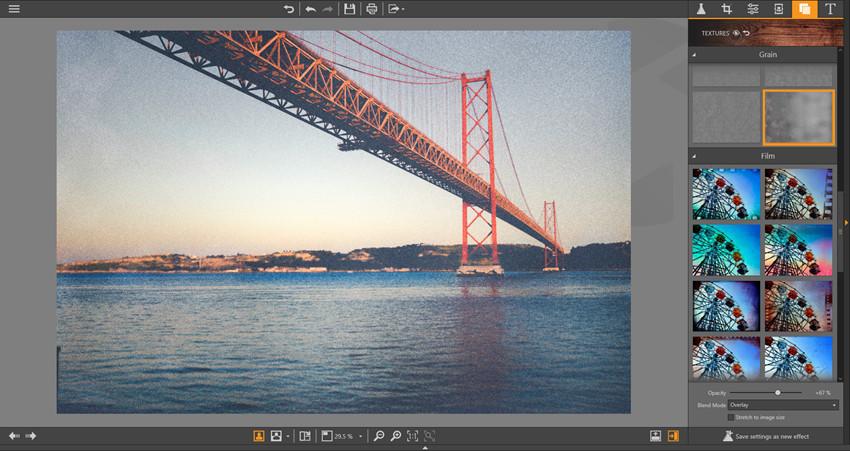 Photo Editor Texture Guide - Opacity