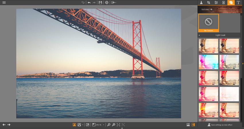 Photo Editor Texture Guide - Enter Textures Panel