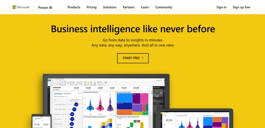 10 best free graph maker - Power BI