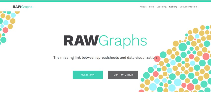 10 best free graph maker - RAWGraphs